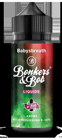 Bonkers & Bob Babysbreath Aroma 10 ml + 120 ml Chubby Gorilla Leerflasche