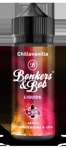 Bonkers & Bob Chillavanilla Aroma 10 ml + 120 ml Chubby Gorilla Leerflasche