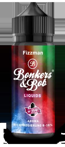 Bonkers & Bob Fizzman Aroma 10 ml + 120 ml Chubby Gorilla Leerflasche