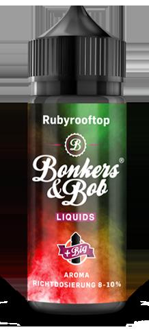 Bonkers & Bob Rubyrooftop Aroma 10 ml + 120 ml Chubby Gorilla Leerflasche