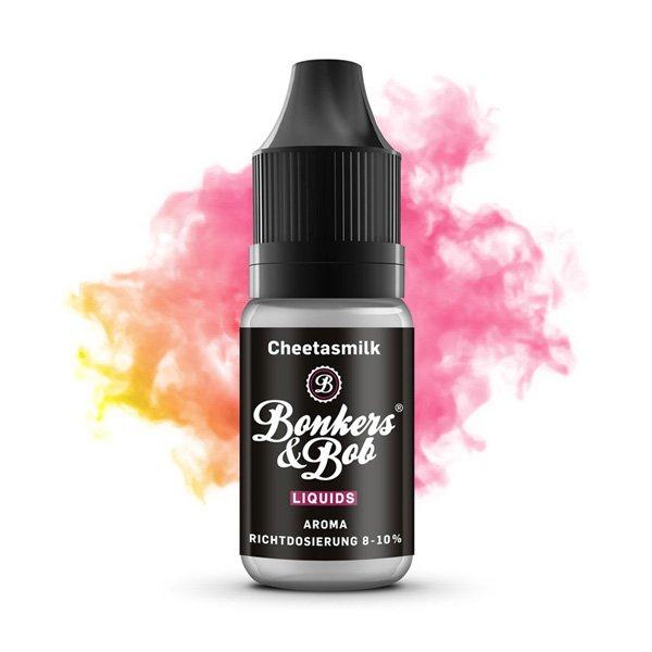Bonkers & Bob Liquids - Aroma Cheetasmilk 10 ml