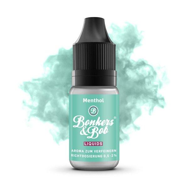 Bonkers & Bob Liquids - Essential Aroma Menthol 10 ml