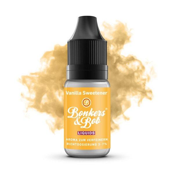 Bonkers & Bob Liquids - Essential Aroma Vanilla Sweetener 10 ml