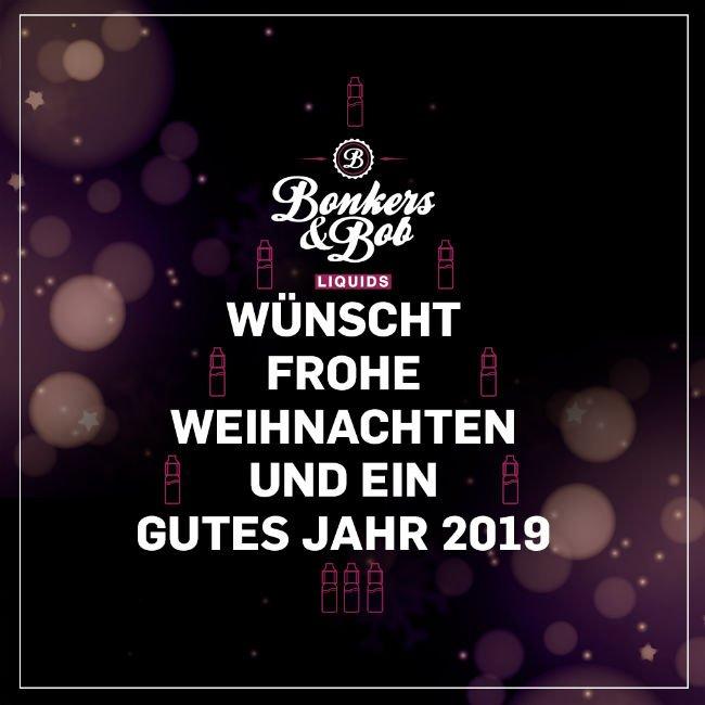 Frohe Weihnachten und einen gutes Jahr 2019