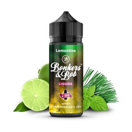 Bonkers & Bob Lemontine Aroma 10 ml + 120 ml Chubby Gorilla Leerflasche